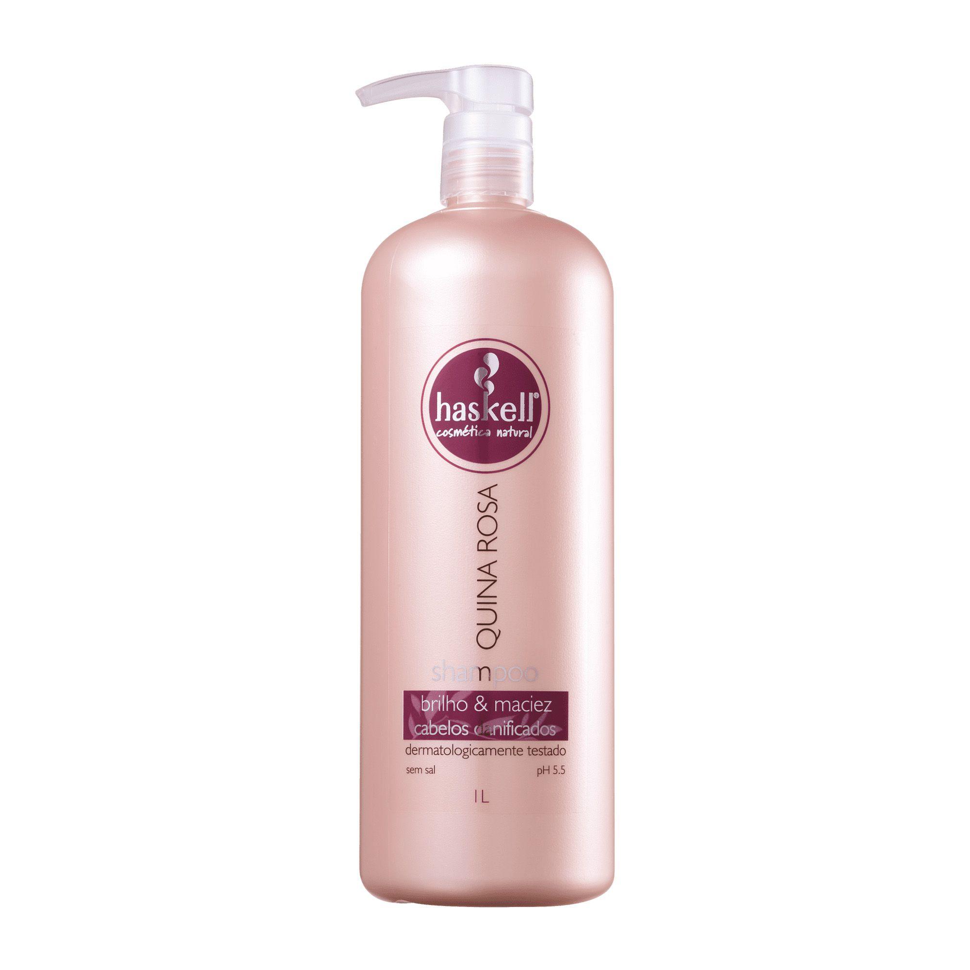 Shampoo Quina Rosa 1000ml - Haskell