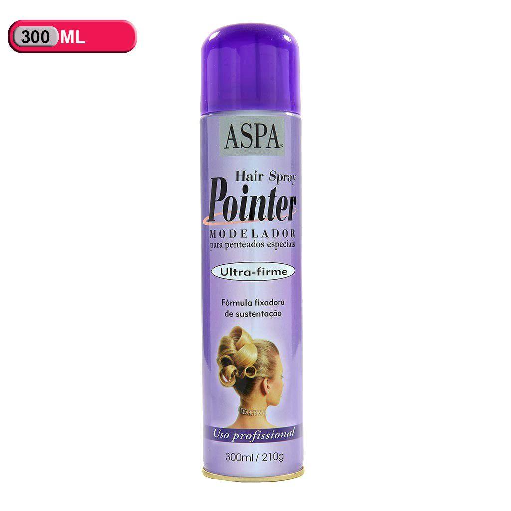 Spray Aspa Pointer Modelador De Penteados 300ml