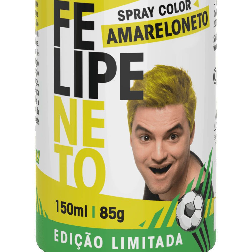 SPRAY COLOR FELIPE NETO – AMARELONETO
