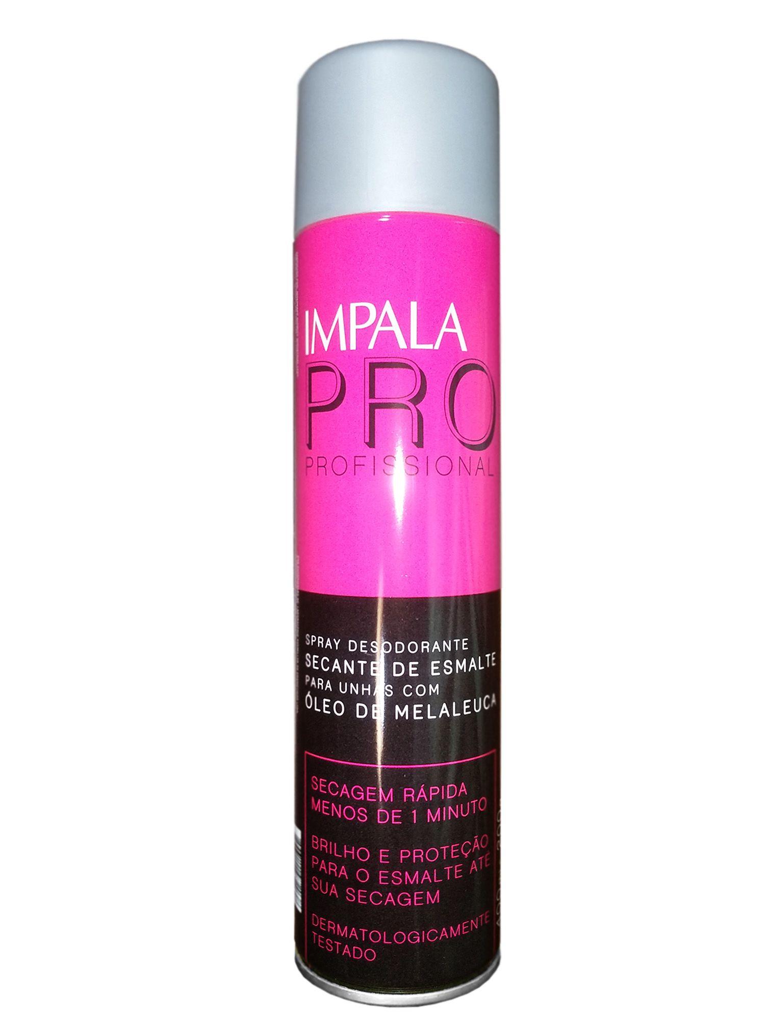 Spray Secante Para Unhas com Melaleuca - Impala Profissional 6 Unidades