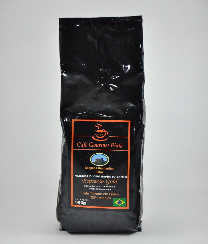 Café Gourmet Piatã - 500g (Em grãos) - Chapada Diamantina