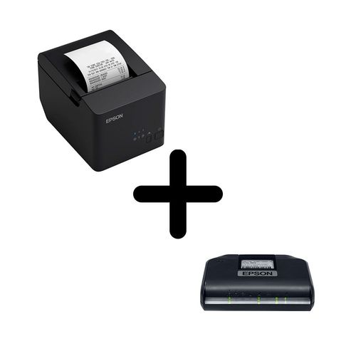 KIT SAT Epson A-10 + Impressora térmica TM-T20X Epson USB E SERIAL  - Loja Ribeirão WCOM Soluções