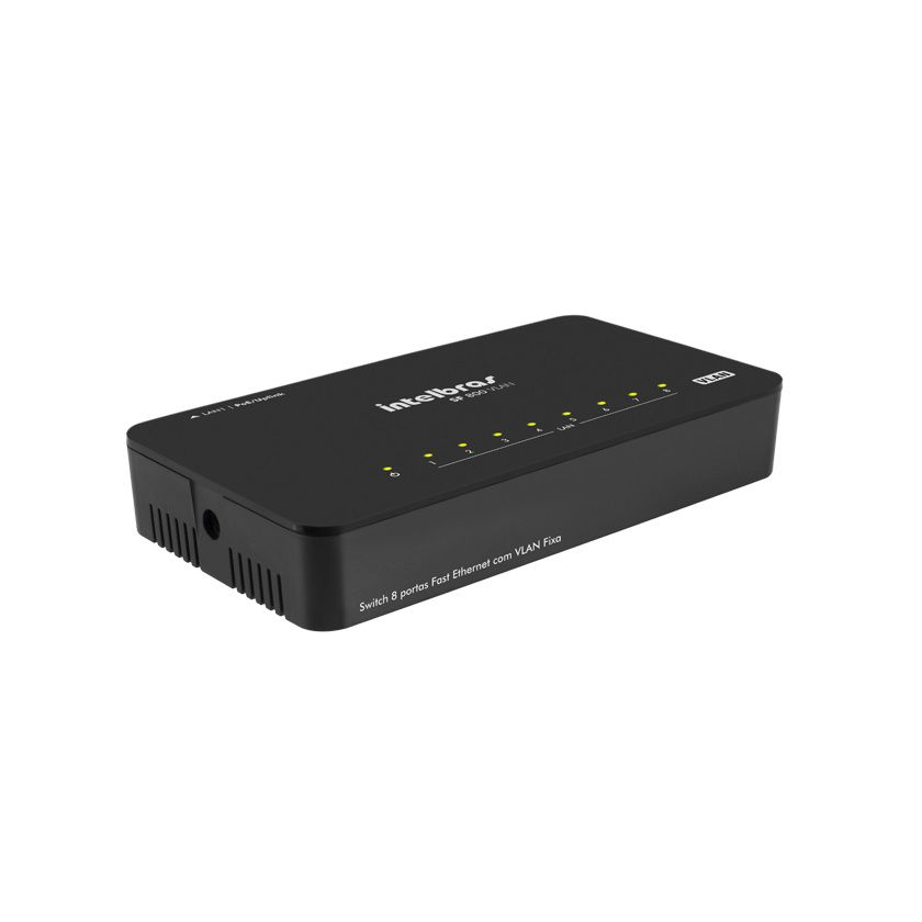 Switch Sf 800 Vlan 8 Portas Fast Antissurto Intelbras