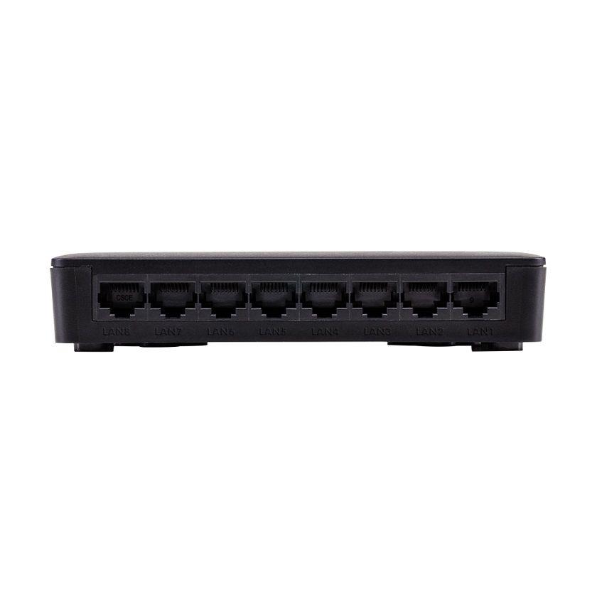 Switch Sf 800 Vlan Ultra 8 Portas Fast Antissurto Intelbras