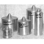Formas de alumínio CILÍNDRICA com bico