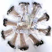 Pavios para velas votivas - 17cm (10 pctes c/ 20 unid)