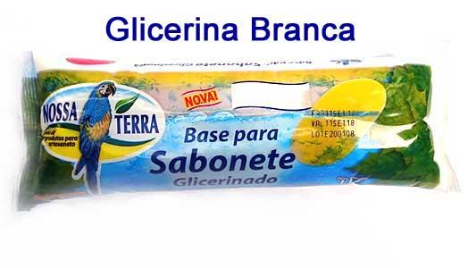 Base para Sabonete Glicerinado 1 kg - Transp - Branca - Perolada  - Momento da Arte