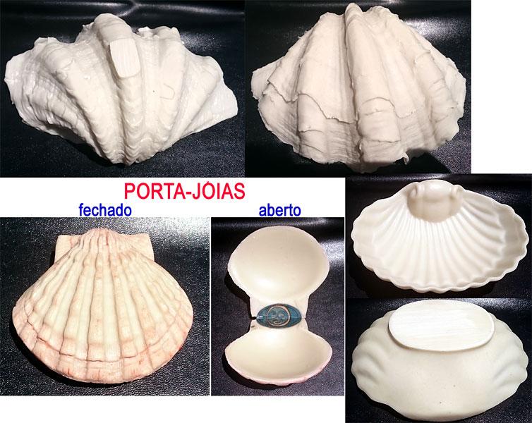 conchas para decoração  - Momento da Arte
