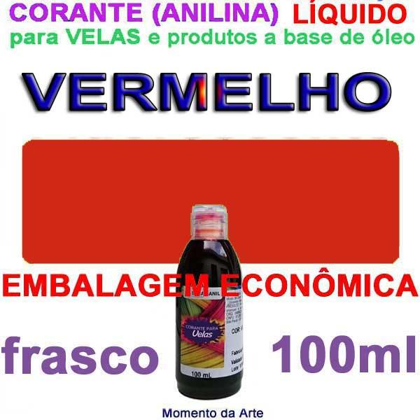 Corantes Liquidos (anilina a óleo) para velas - 100ml
