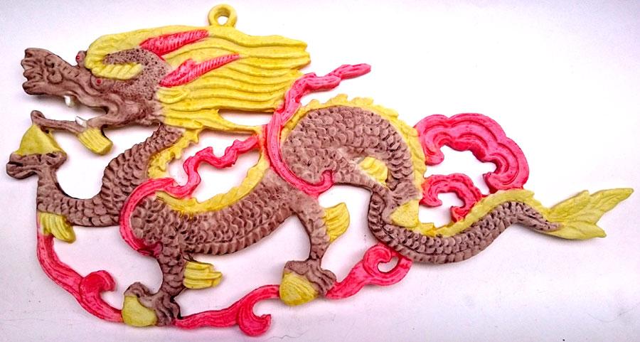 Dragão - decoração de parede  - Momento da Arte