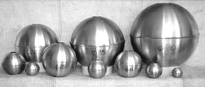 Formas de alumínio BOLA  - Momento da Arte