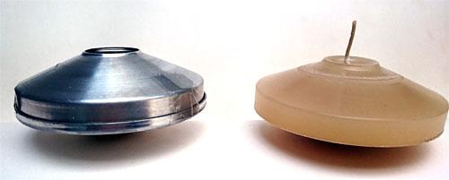 Formas de alumínio FLUTUANTE  - Momento da Arte