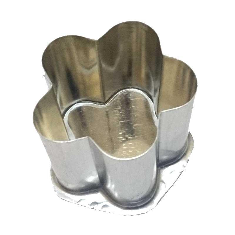Formas de flandres FLOR 5 pétalas 06x05