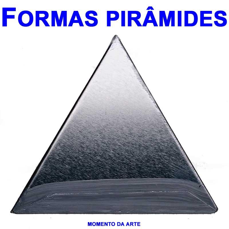 Formas de flandres PIRAMIDE  - Momento da Arte