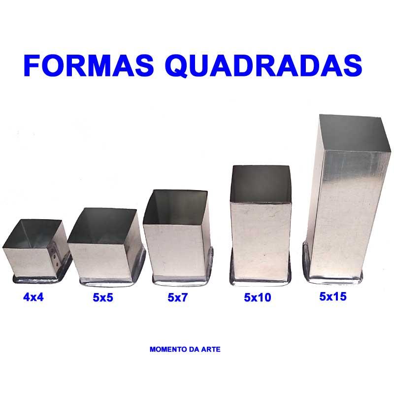 Formas de flandres QUADRADA  - Momento da Arte