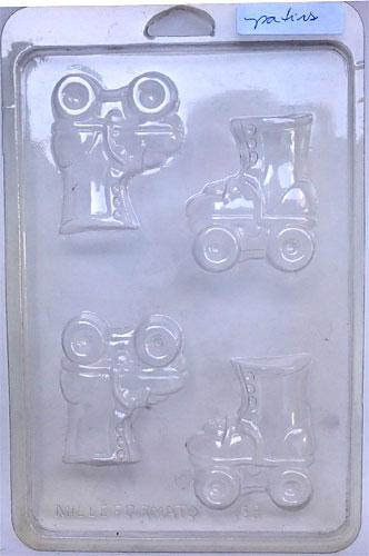 Formas de PVC - diversos modelos I-Y  - Momento da Arte
