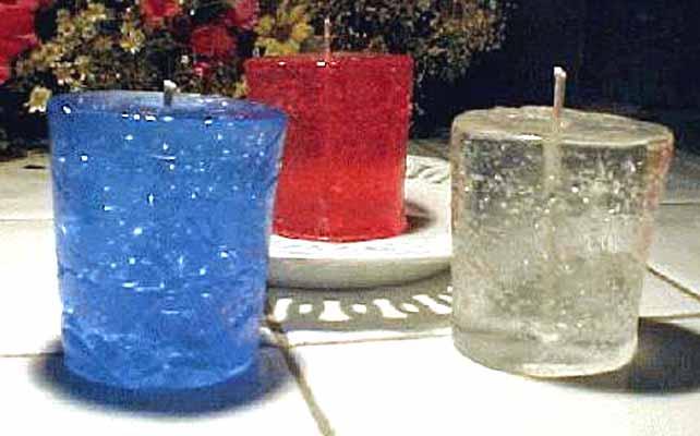 Parafina Gel Duro Cristal para velas 1kg  - Momento da Arte