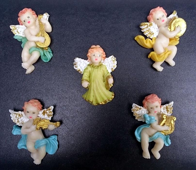 Imãs de Geladeira - Anjos  - Momento da Arte