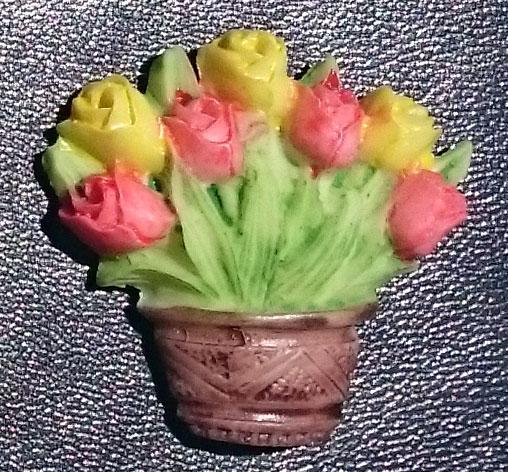Imãs de Geladeira - Flores, Frutas e Legumes  - Momento da Arte