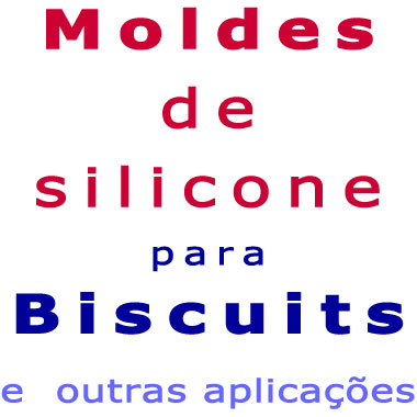 Moldes de Silicone para Biscuit (A-B)  - Momento da Arte