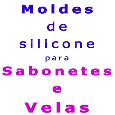 Moldes de Silicone para Sabonetes e Velas