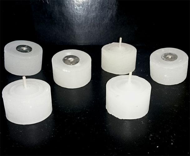 velas de rechaud com 6 unidades  - Momento da Arte