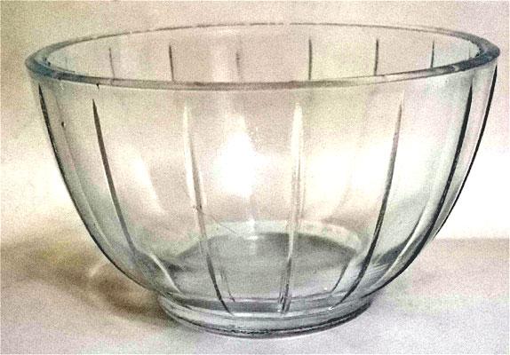 vidro taça de sobremesa