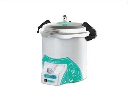 Autoclave Vertical Analógica 23 litros Câmara Alumínio Vetclave - Stermax
