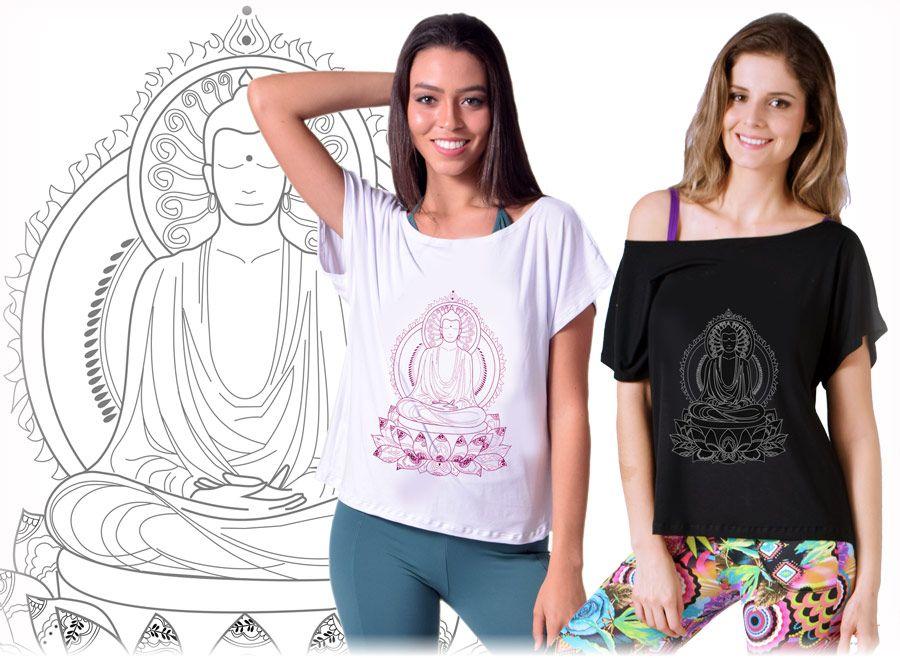 Blusa Yoga Buda Pavan