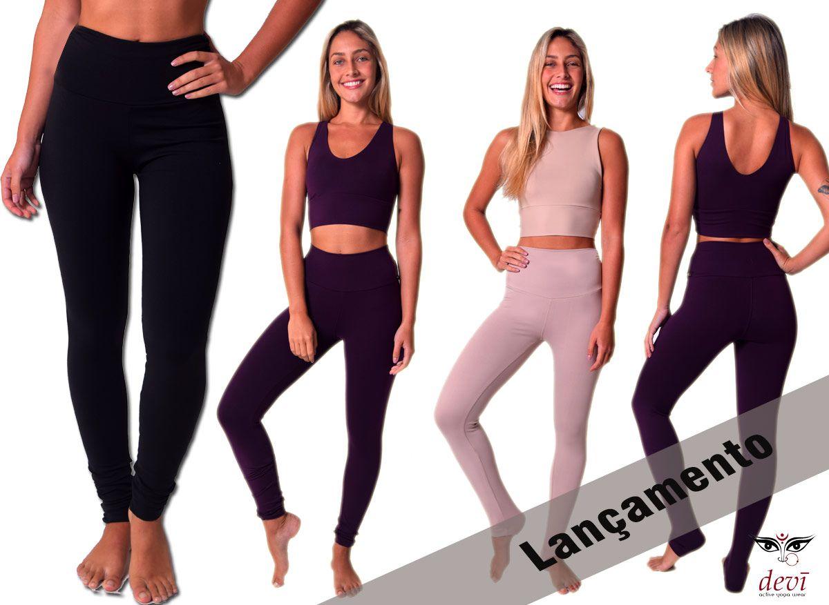 Calça Legging Yoga Devi