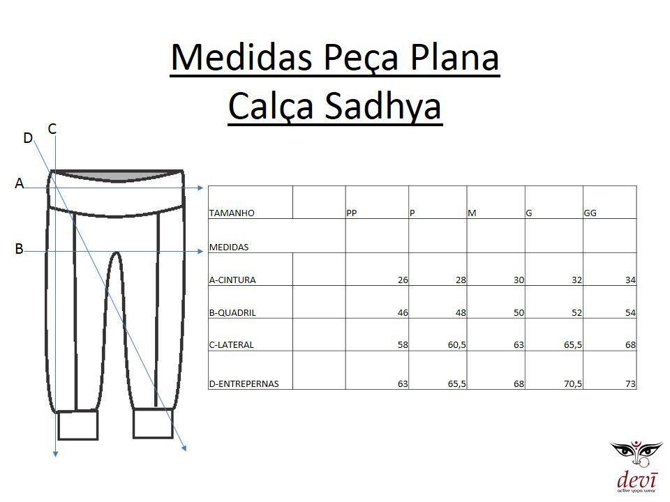 Calça Sadhya curta