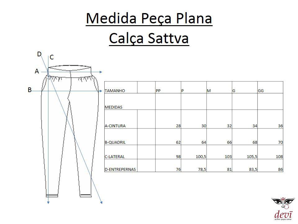 Calça Saruel  Feminina Sattva