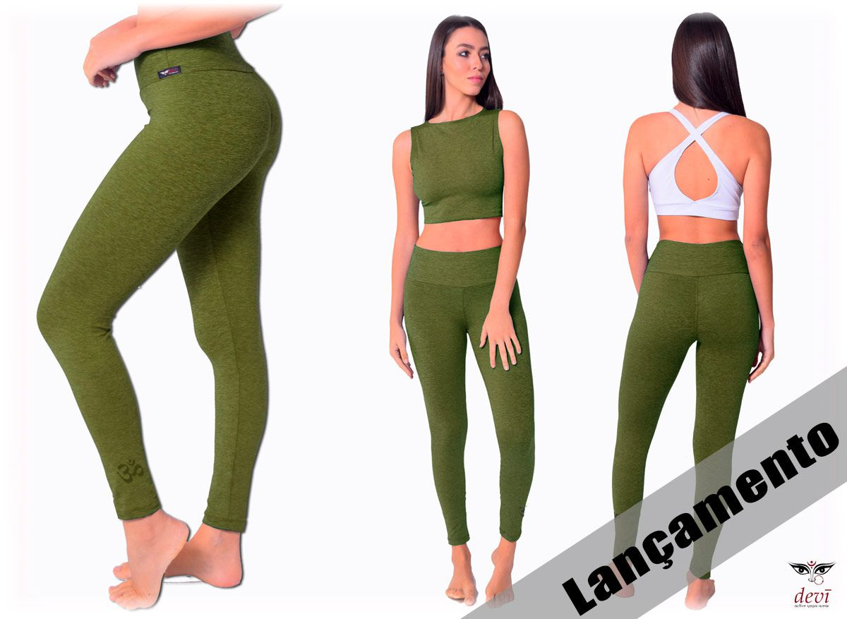 Legging Mescla Verde OM
