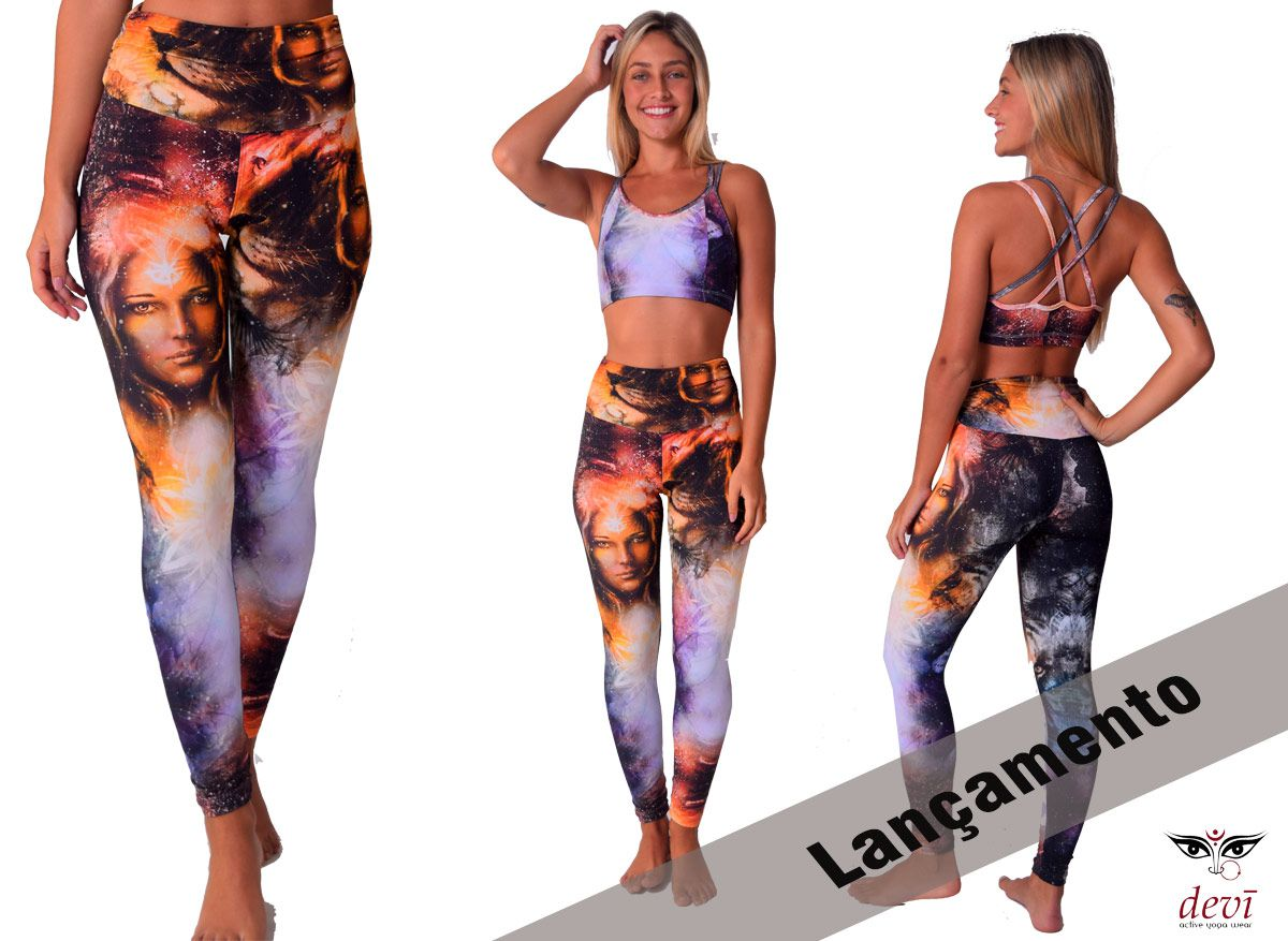 Legging Yoga Deusa