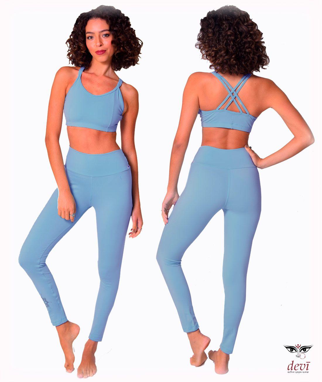 Legging Yoga Mandala Azul