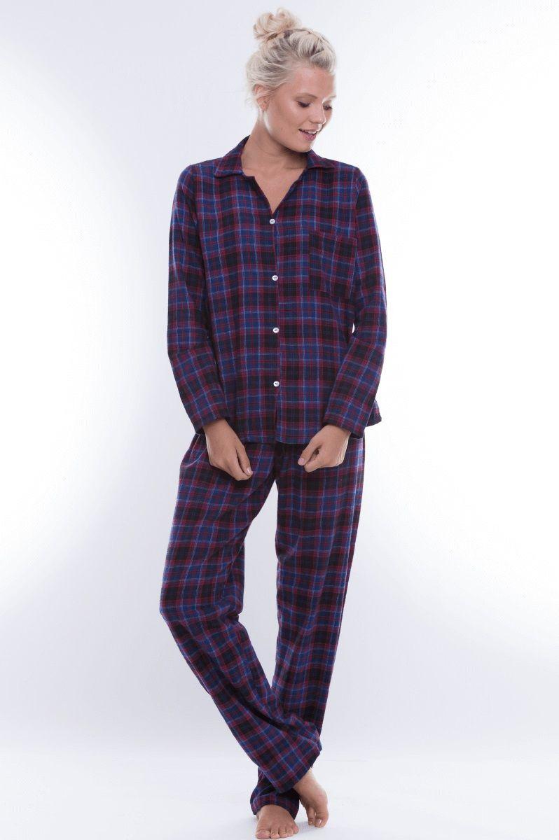 459ccd955 ... Pijama Adulto Flanela Xadrez Chic - SUPE ...