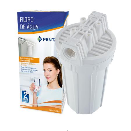 Filtro Pou 7 Branco Carbon Block - 907-0022