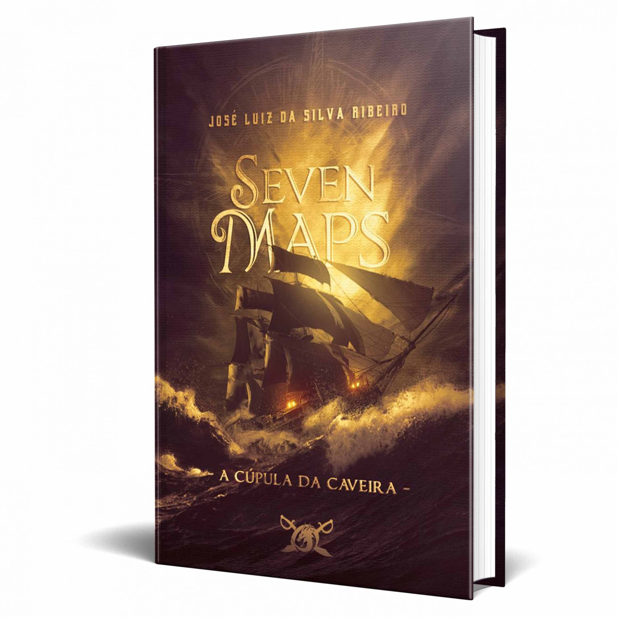 Livro Seven Maps - A Cúpula da Caveira