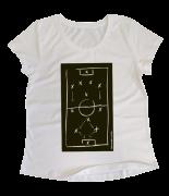 Camiseta Baby Look Feminina Qual a Sua Tática?