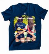Camiseta Clássico é clássico e vice versa - masculina