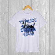 Camiseta especial Tríplice Cora 15 anos Alex