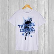 Camiseta especial Tríplice Cora Gel de Letra Alex