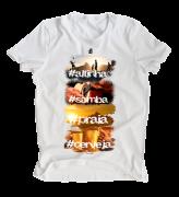 Camiseta masculina Futebol Combina com...