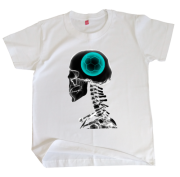 Camiseta Infantil Futebol na Cabeça