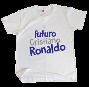 Camiseta Infantil Futuro CR7