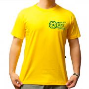Camiseta Movimento Verde Amarelo
