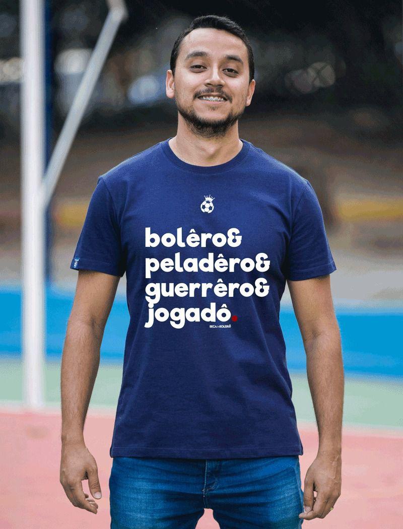 Camiseta - Eu sou boleiro