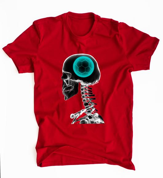 Camiseta Futebol na Cabeça