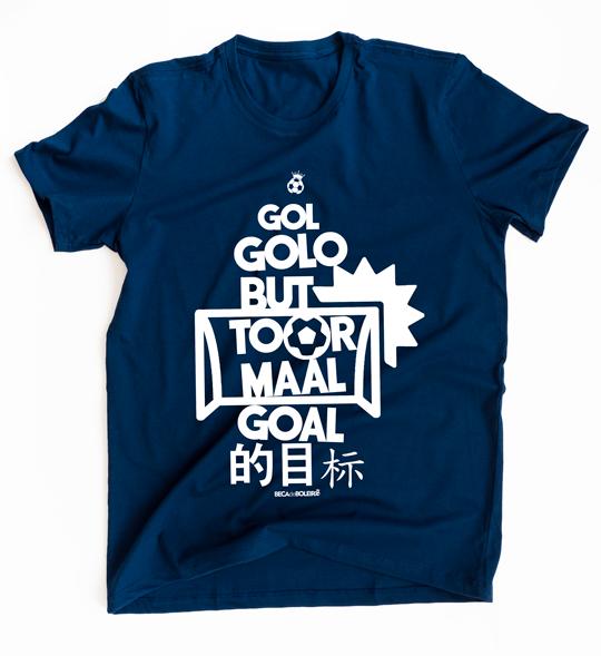 Camiseta Gol: Linguagem Universal