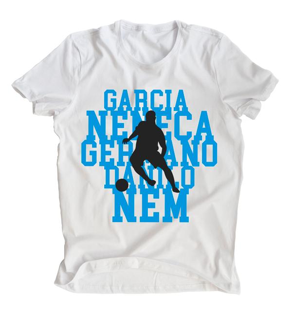 Camiseta Ídolos Alvicelestes - masculina